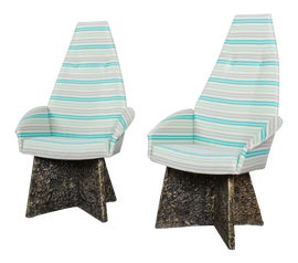 Image of White Dining Chairs