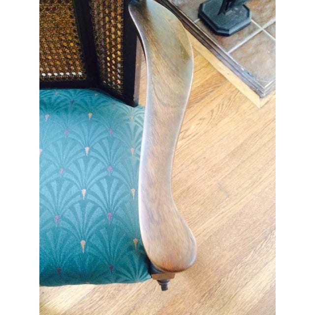 Vintage Upholstered Rocking Chair - Image 5 of 6