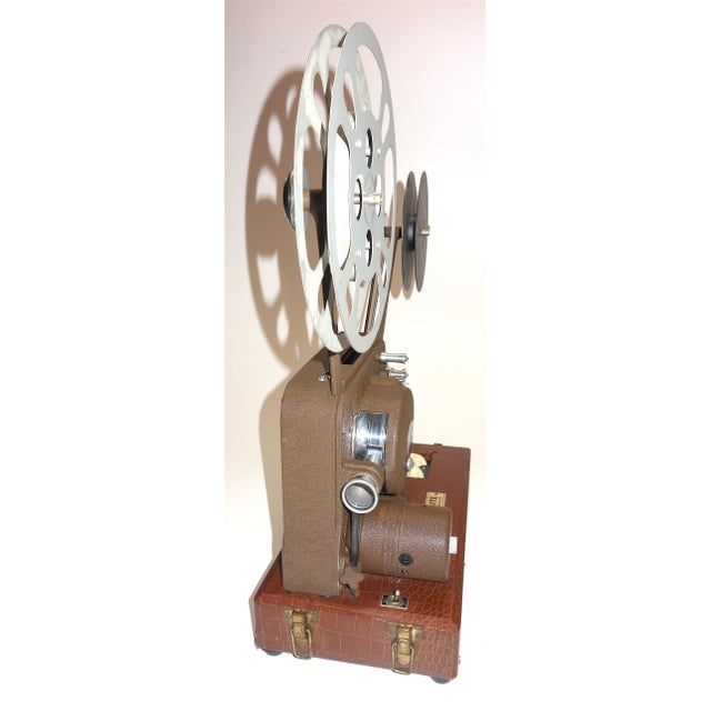 Circa 1940's Sound and Picture Movie Projector. Art Deco Design. All Original 16mm Artifact For Sale In Dallas - Image 6 of 13