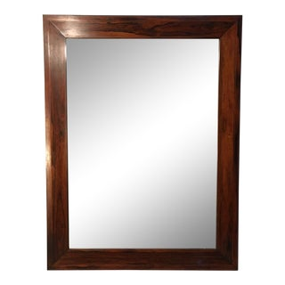 French Rosewood Wall Mirror For Sale