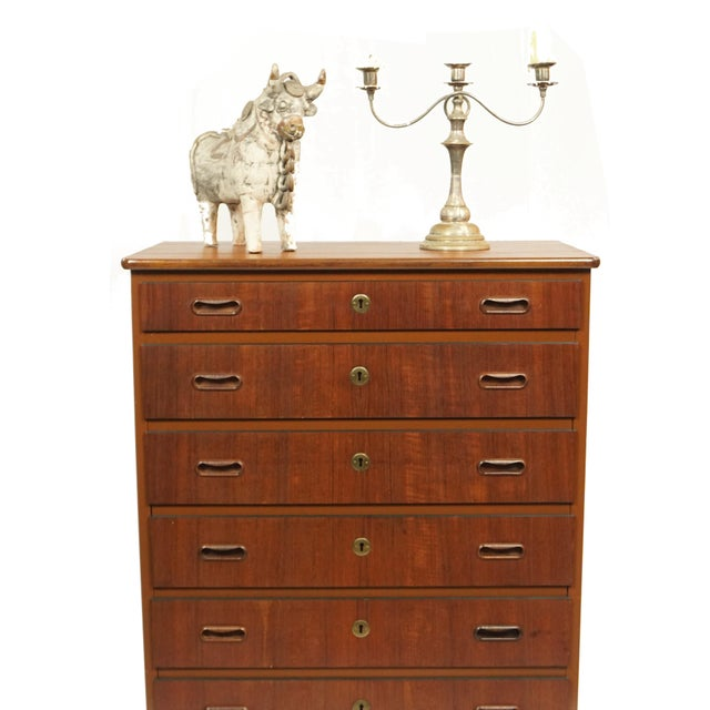 Swedish 6 Drawer Dresser - Image 4 of 4