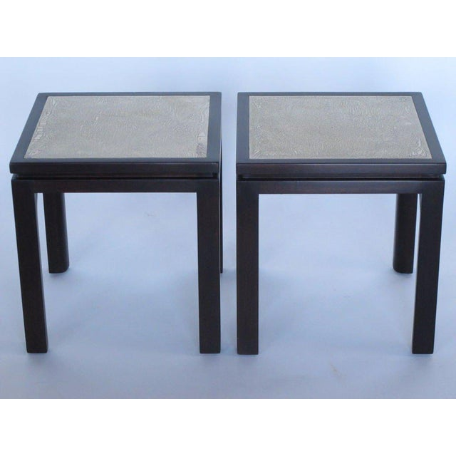 Harvey Probber Enamel Square Side Tables - a Pair For Sale - Image 10 of 11