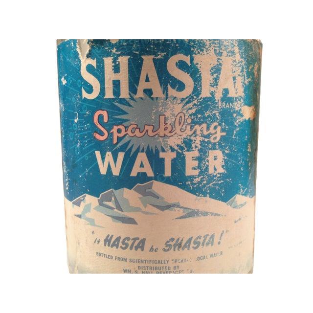 Vintage Pre-1940s Shasta Seltzer Bottle For Sale - Image 5 of 5