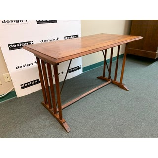 Antique French Cherry Cafe Table-Desk Preview