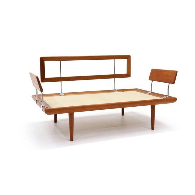 Three-Piece Peter Hvidt & Orla Mølgaard-Nielsen Sofa/Daybed and Pair of Settees - Image 8 of 10