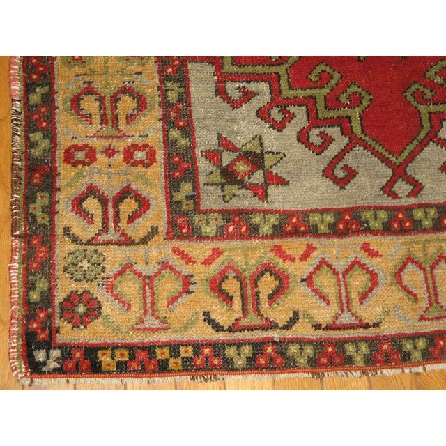 Vintage Handmade Tribal Rug - 3′2″ × 5′7″ For Sale - Image 4 of 6