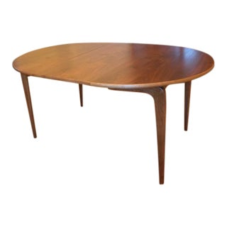 1960s Mid Century Modern Lane Perception Dining Room Table For Sale