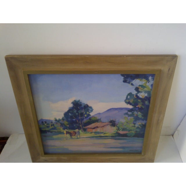 """""""Mexican Farm"""" by Hans Paro For Sale In Pittsburgh - Image 6 of 7"""