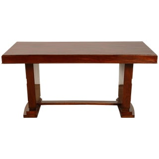 1930's Art Deco French Colonial Rosewood Desk For Sale