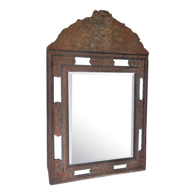 18th Century Dutch Baroque Mirror For Sale