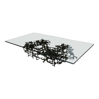 Daniel Gluck Sculptural Coffee Table For Sale