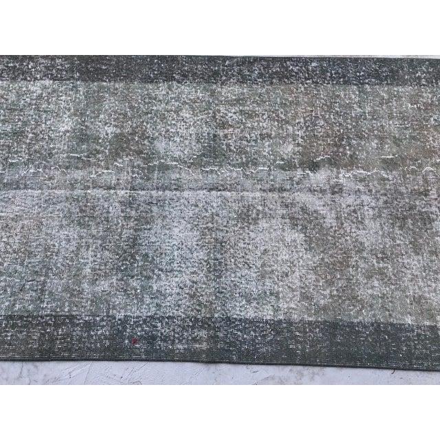 1960s 1960s Turkish Anatolian Handmade Oushak Wool Rug For Sale - Image 5 of 11