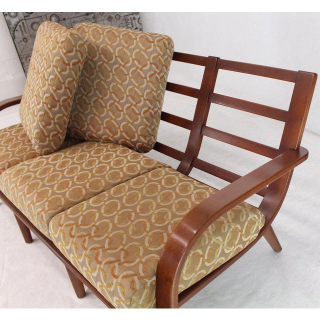 Conant Ball Russel Right Solid Bent Maple Sofa For Sale - Image 11 of 13