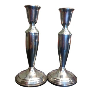 Towle Sterling Silver Candlesticks - Set of 2