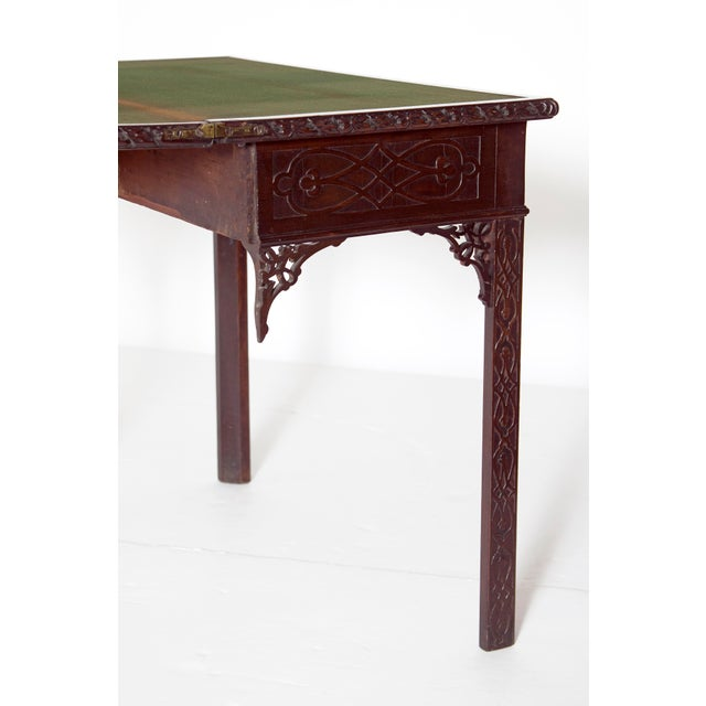 Mid-18th Century Early George III Mahogany Card Table For Sale In Dallas - Image 6 of 13
