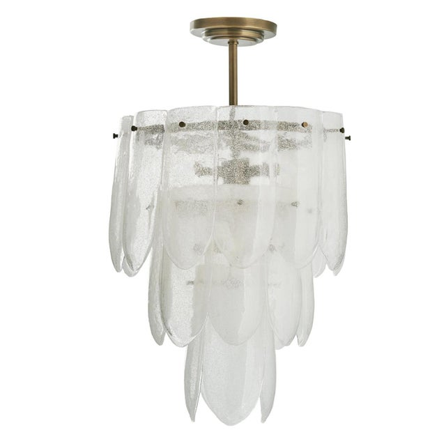 Arteriors Eloise Small Chandelier For Sale - Image 9 of 9