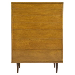1950's Edward Wormley Seven-Drawer Dresser For Sale
