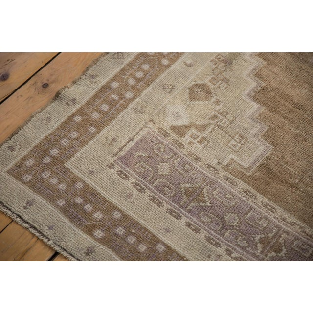 """Vintage Distressed Oushak Carpet - 5'7"""" X 8'3"""" For Sale In New York - Image 6 of 11"""