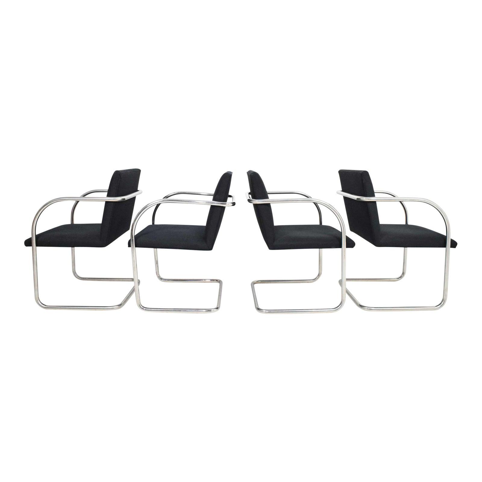 Superior Mies Van Der Rohe Tubular Brno Chairs By Knoll