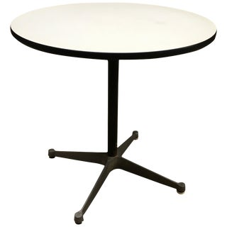 Early Charles Eames for Herman Miller Aluminum and Laminate Table For Sale