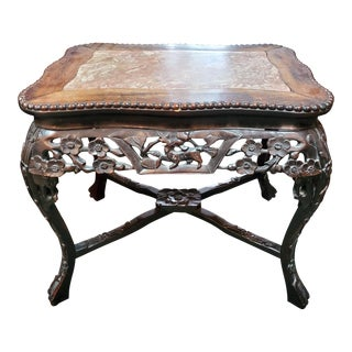 Asian Antique Oriental Tea Table For Sale