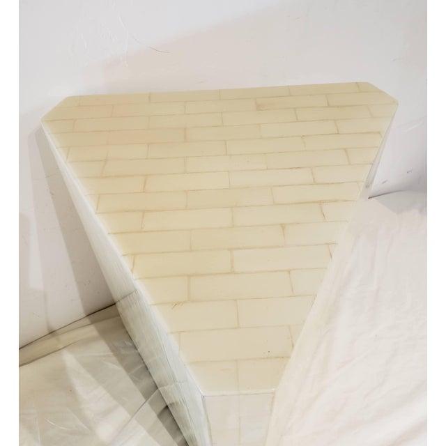 Vintage Bone Inlay Pedestal For Sale - Image 4 of 6