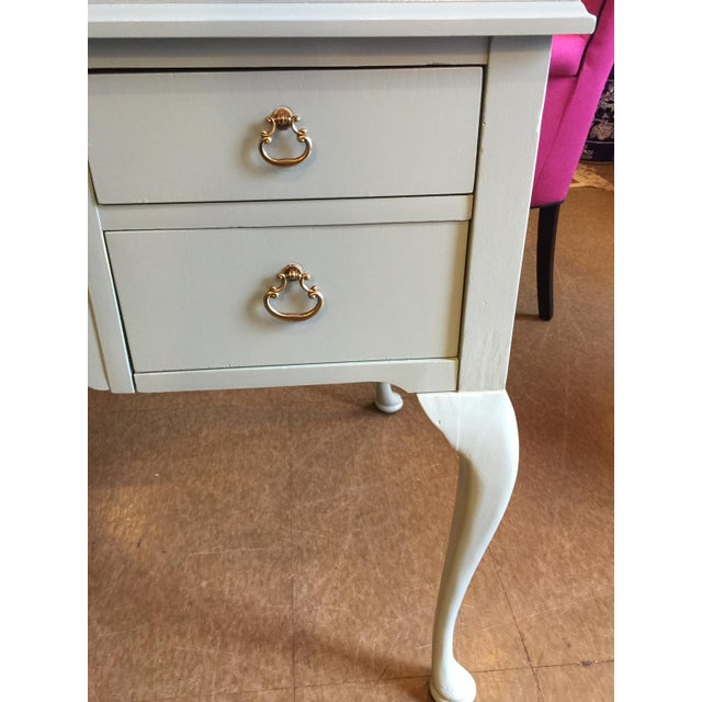 French Style Vintage Lacquered Desk - Image 6 of 7