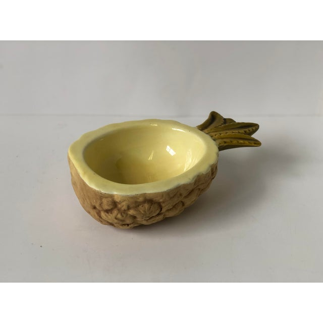 Vintage Pineapple Dish of Ceramic For Sale - Image 11 of 13