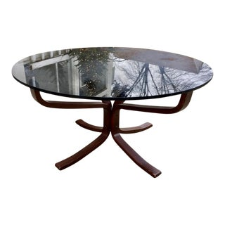 Sigurd Resell Falcon Rosewood Coffee Table For Sale