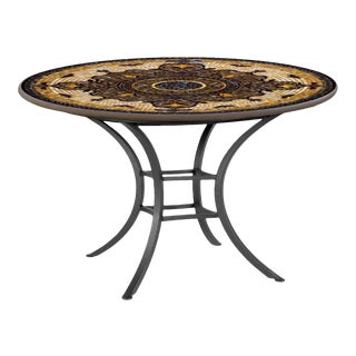 """Almirante 42"""" Bistro Table with Black Base For Sale"""