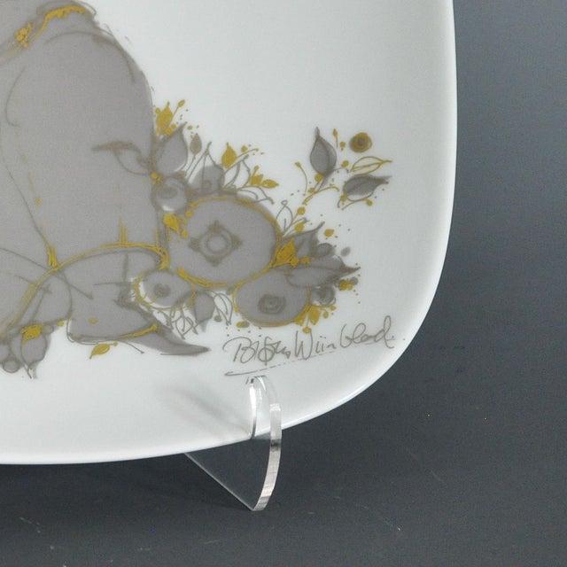 Large Rosenthal Studio Line Bjorn Wiinblad Plate - Image 4 of 5