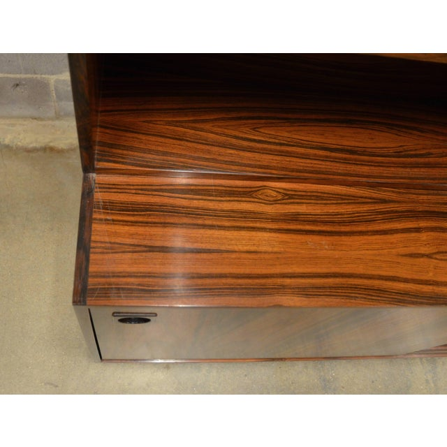 Mid-Century Modern Danish Rosewood Bookcase For Sale - Image 9 of 10