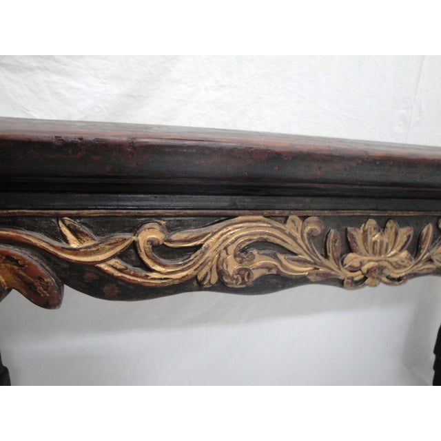 19th Century Painted Bench For Sale - Image 4 of 6