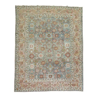 Antique Persian Malayer Rug, 9' X 11'8''