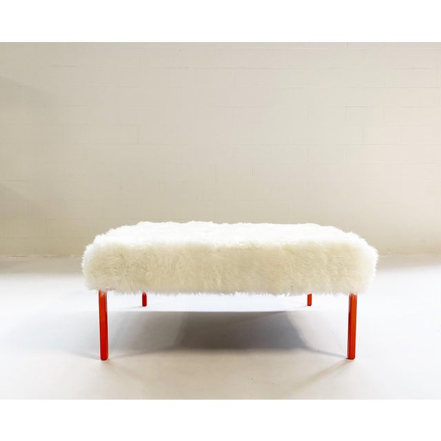 A new addition to our Originals collection. This bespoke ottoman is perfect for a variety of uses - ottoman, coffee table,...