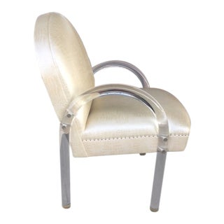 1970s Pace Lucite Chair For Sale