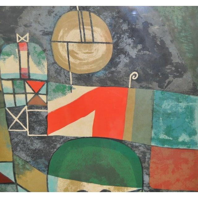 Paul Klee Vintage 1950s Silkscreen For Sale - Image 7 of 9