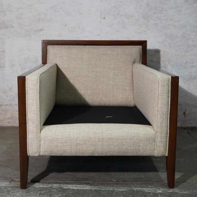 Wood Mid Century Modern Lounge Chair For Sale - Image 7 of 8