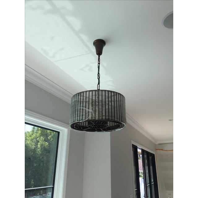 Contemporary Resteration Hardware Vitti Chandelier For Sale - Image 3 of 4