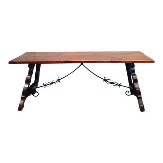 19th C. Basque Trestle Dining Table