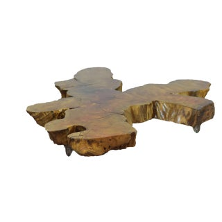 Primitive Live Edge Coffee Table