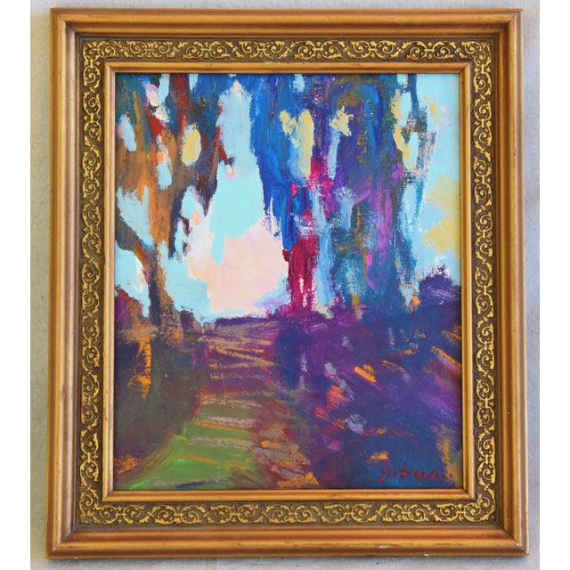 "Ojai California Landscape Painting by Juan ""Pepe"" Guzman For Sale - Image 9 of 10"