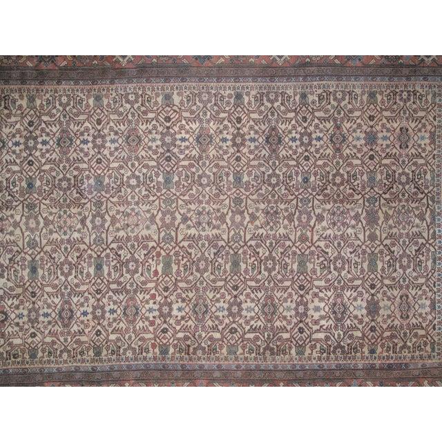 Islamic Leon Banilivi Antique Sultanabad Rug - 8′6″ × 12′ For Sale - Image 3 of 5
