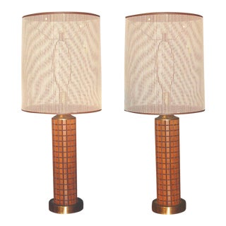 1960's World's Fair Lamps - A Pair For Sale