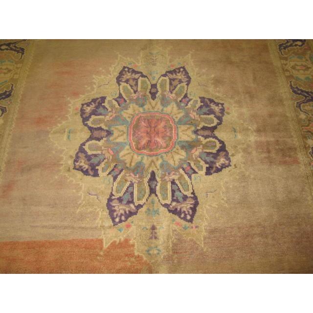 "Islamic Vintage Turkish Handmade Oriental Rug - 5'9"" x 9'7"" For Sale - Image 3 of 6"