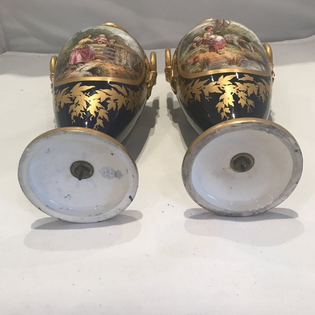 19th Century Royal Worcester Vases - a Pair For Sale - Image 10 of 13