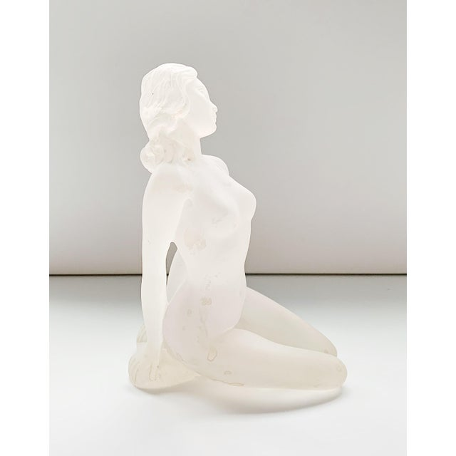 1980s 1980s Lucite Nude Female Sculpture For Sale - Image 5 of 7