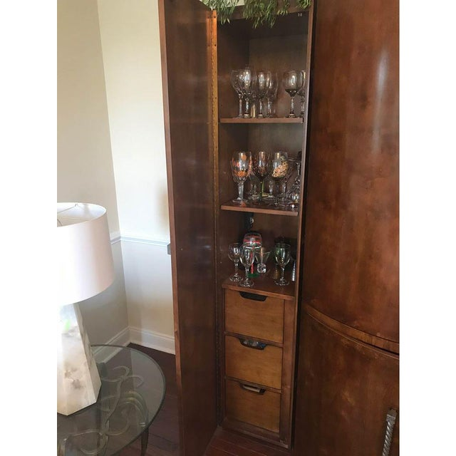 One of kind, real Century Armoire. Sable wood. Century Furniture is one of the world's largest privately owned...