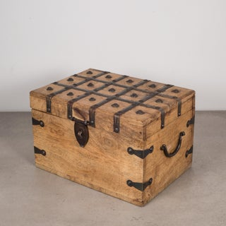 Wood and Metal Studded Box C.1940-1950 Preview