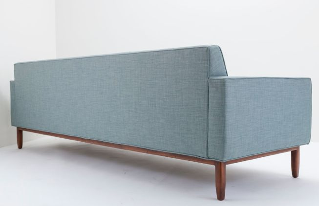 Clad Home Mid Century Style Tufted Sofa For Sale   Image 5 Of 5